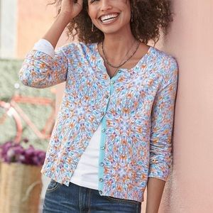 Sundance Evening Light Button Up Cardigan